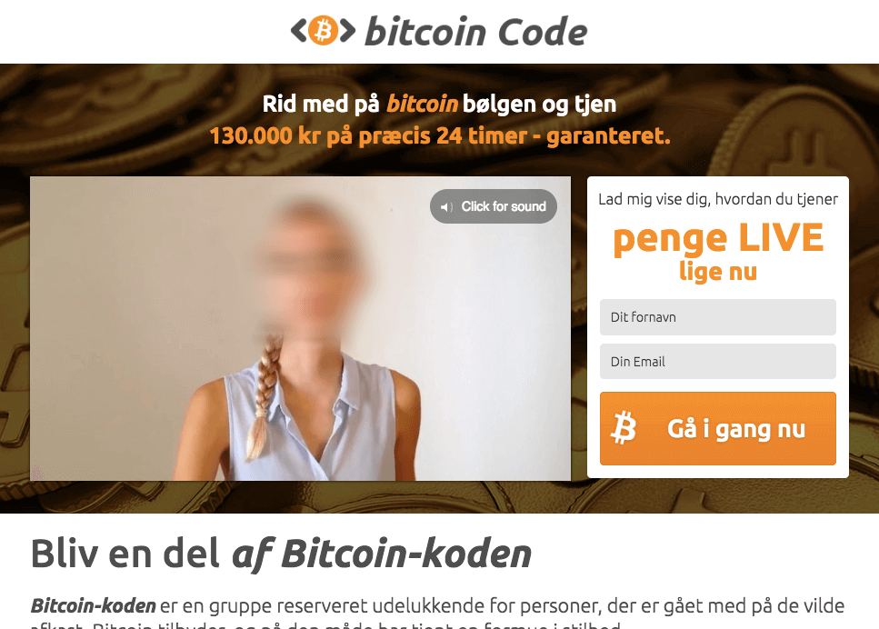 falsk bitcoin code