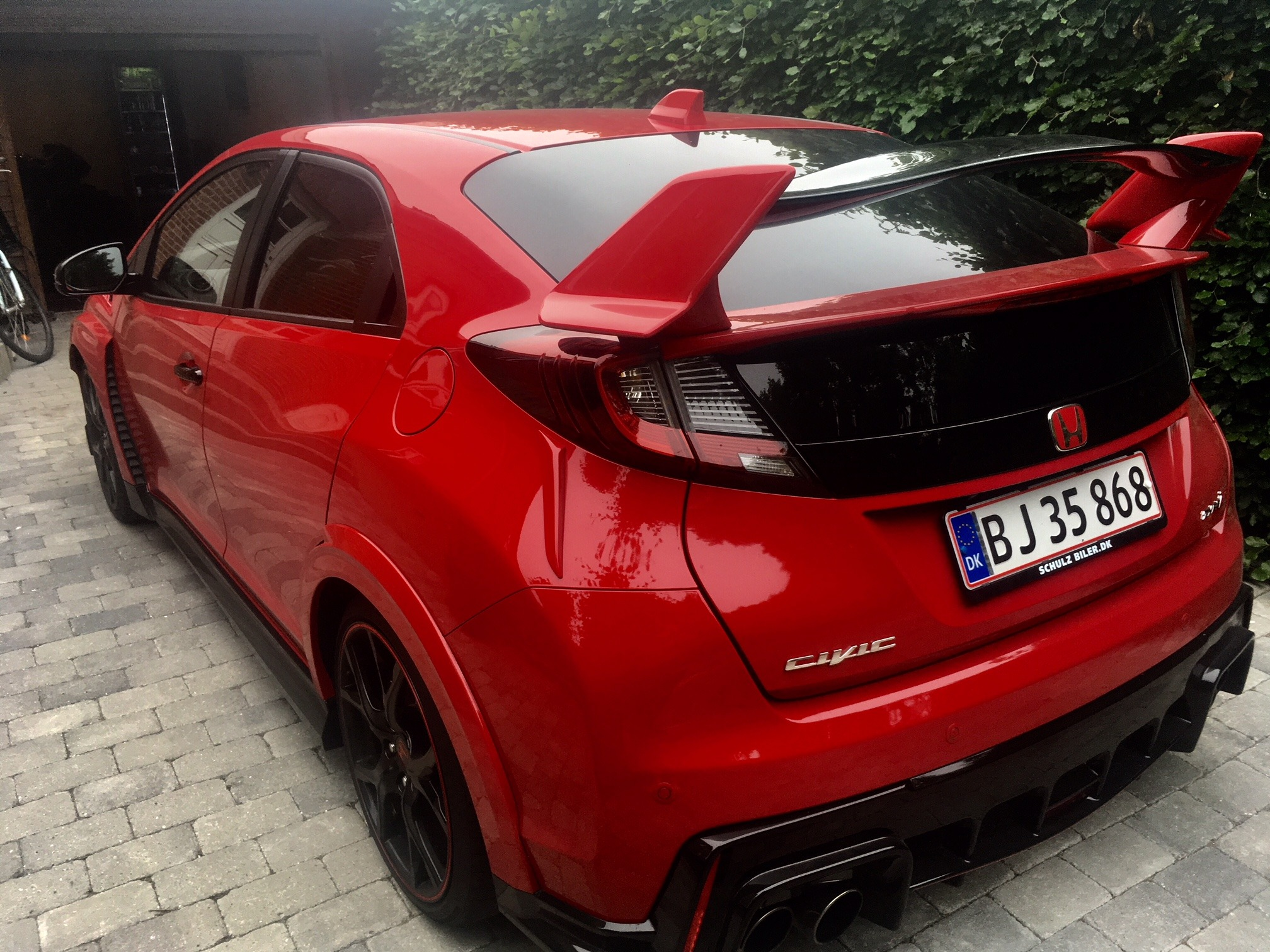 Honda Civic 2.0 VTEC Turbo Type-R, 310 Hk
