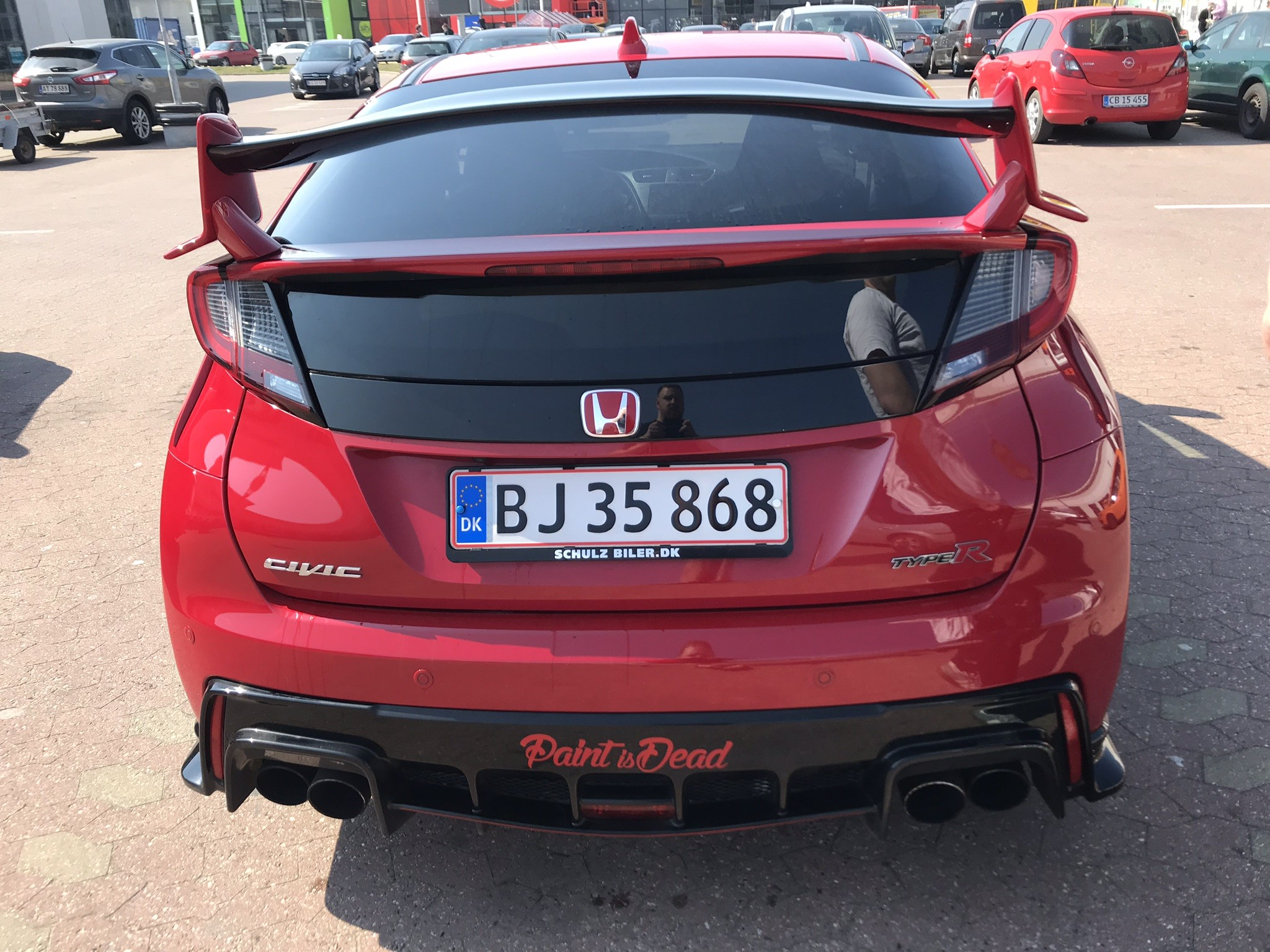 Civic Type R bagved